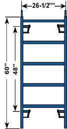 Image de Échafaud extérieur demi-largeur